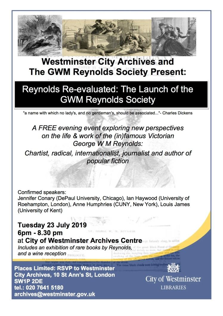 Reynolds Society Launch poster-3